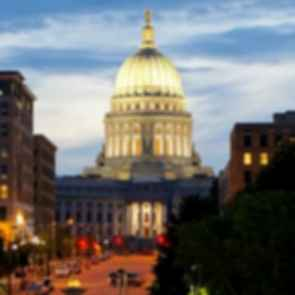 Wisconsin State Capitol - streetview