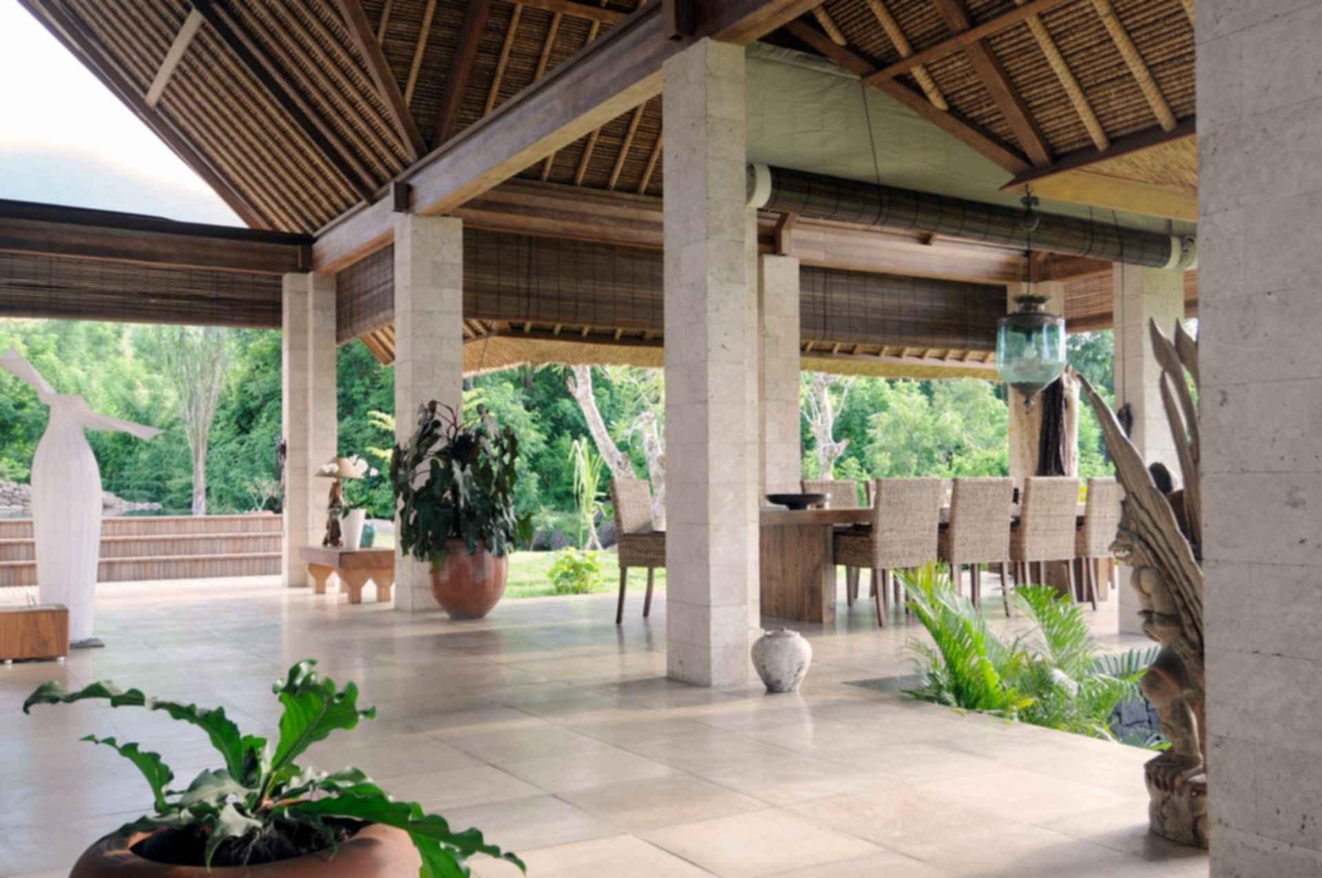Jeda Villa - interior dining