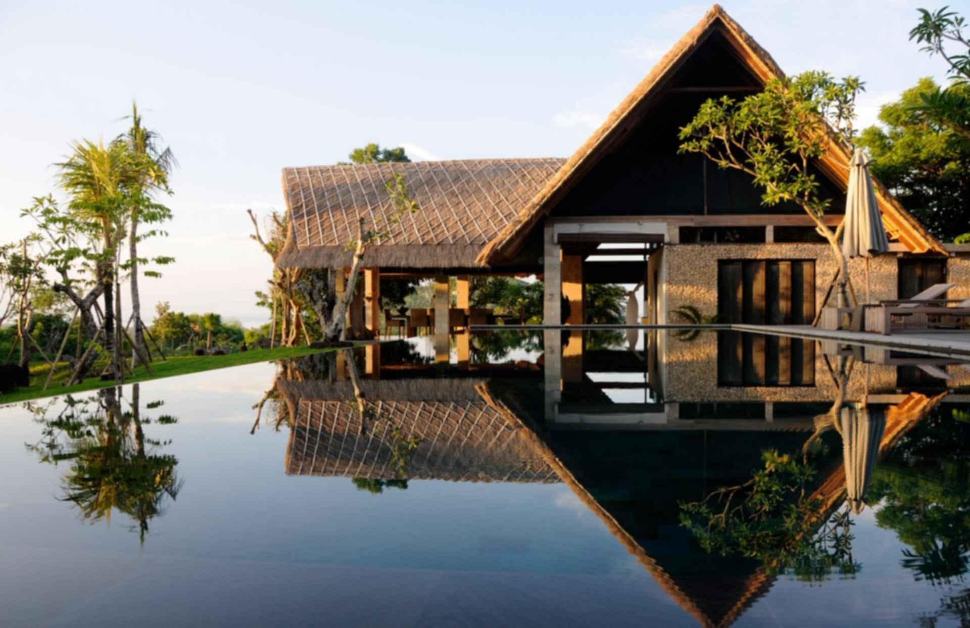 Jeda Villa - exterior pool