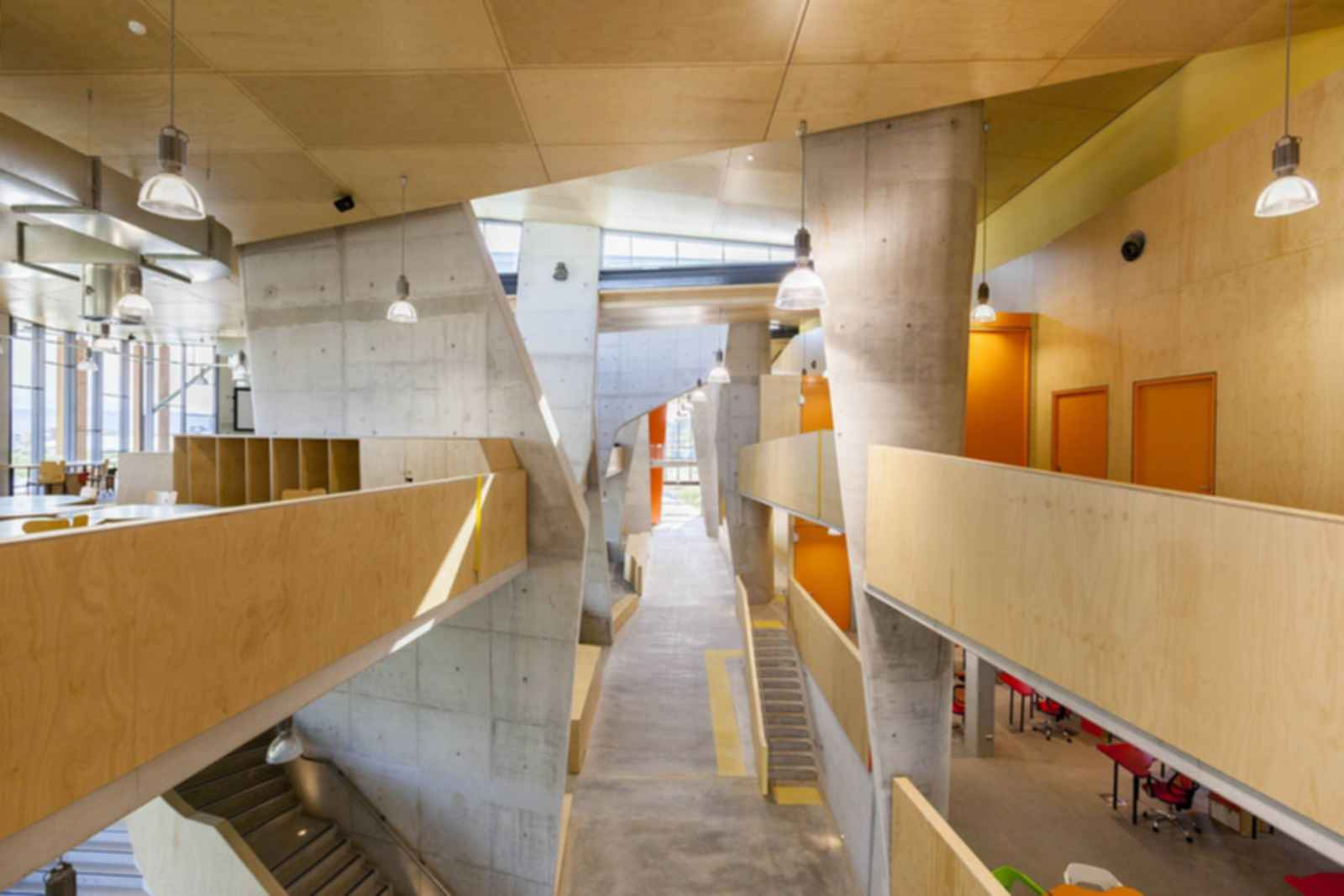 Abedian School of Architecture - Interior