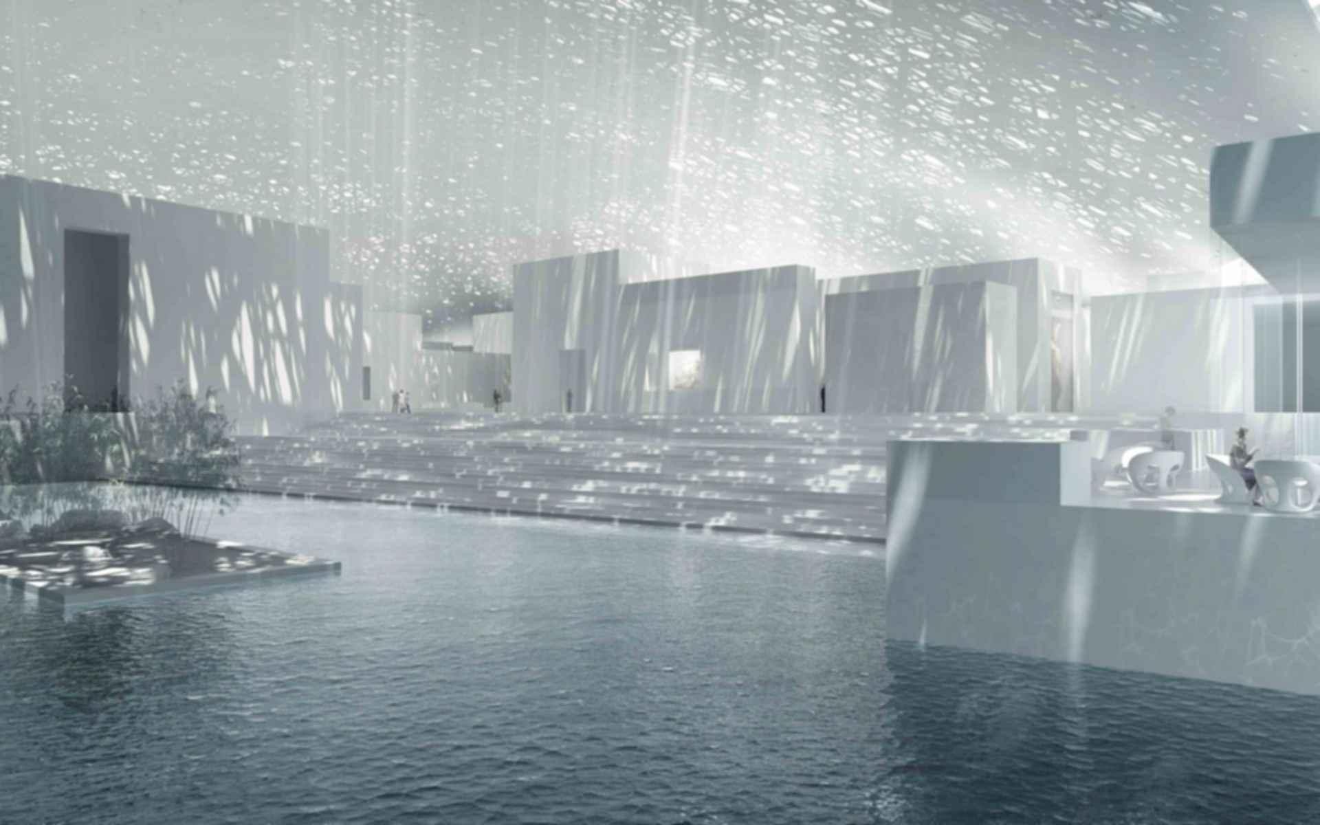 Louvre Abu Dhabi - Entrance Concept