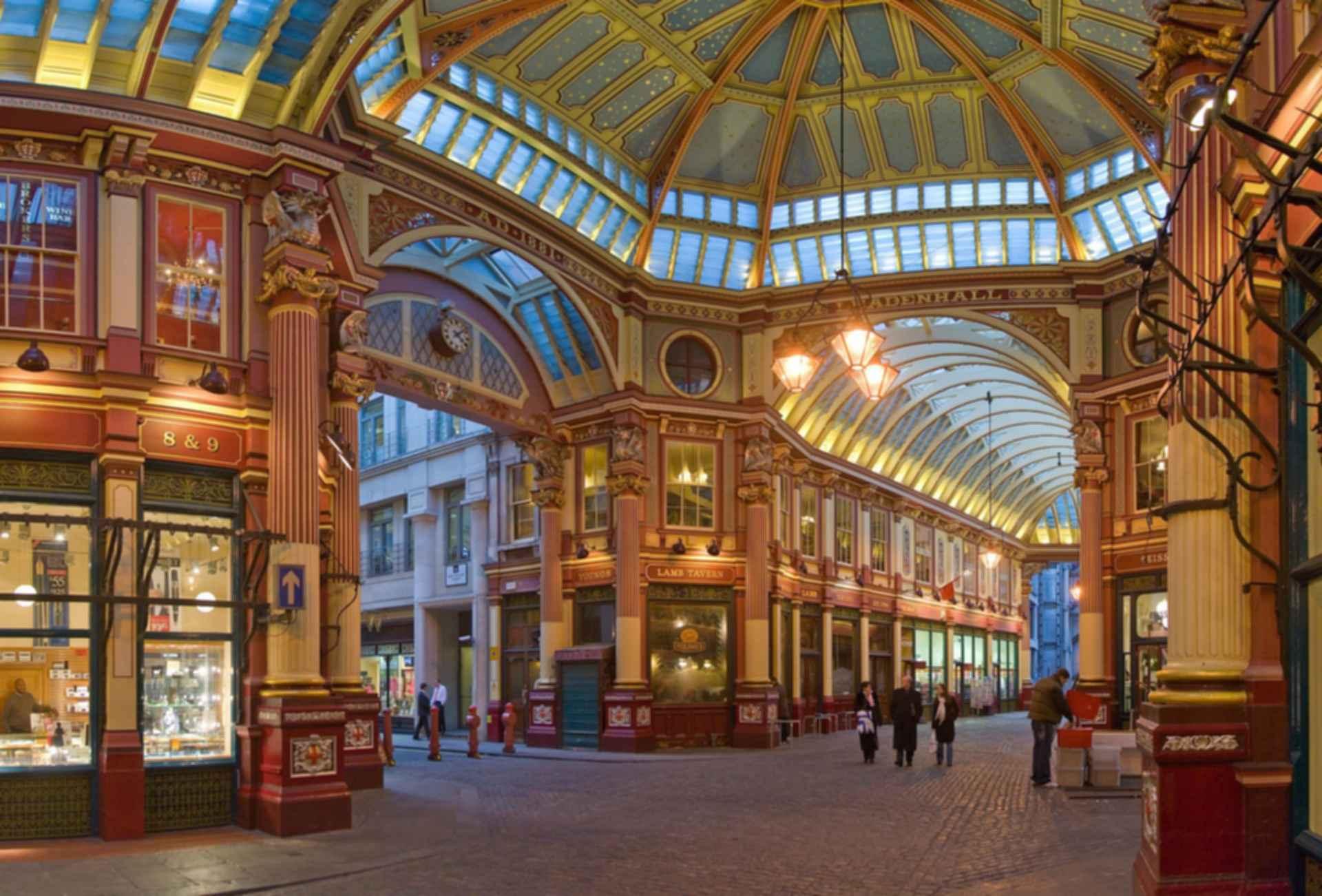 Leadenhall Market - interior