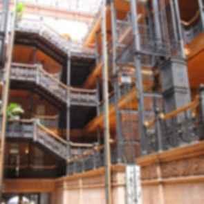 Bradbury Building - interior