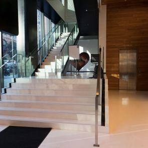 LinkedIn Office - Interior Stairway