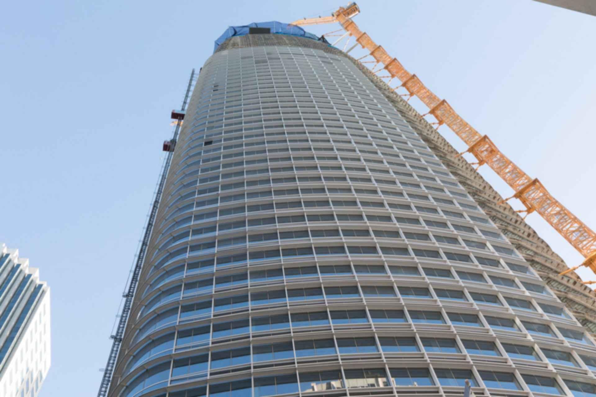 Salesforce Tower - Under Construction