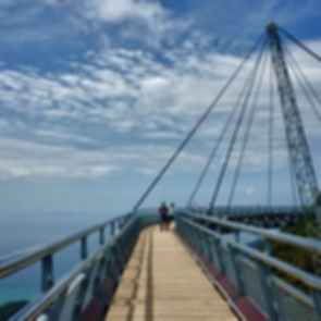 The Langkawi Sky Bridge - View on the Bridge