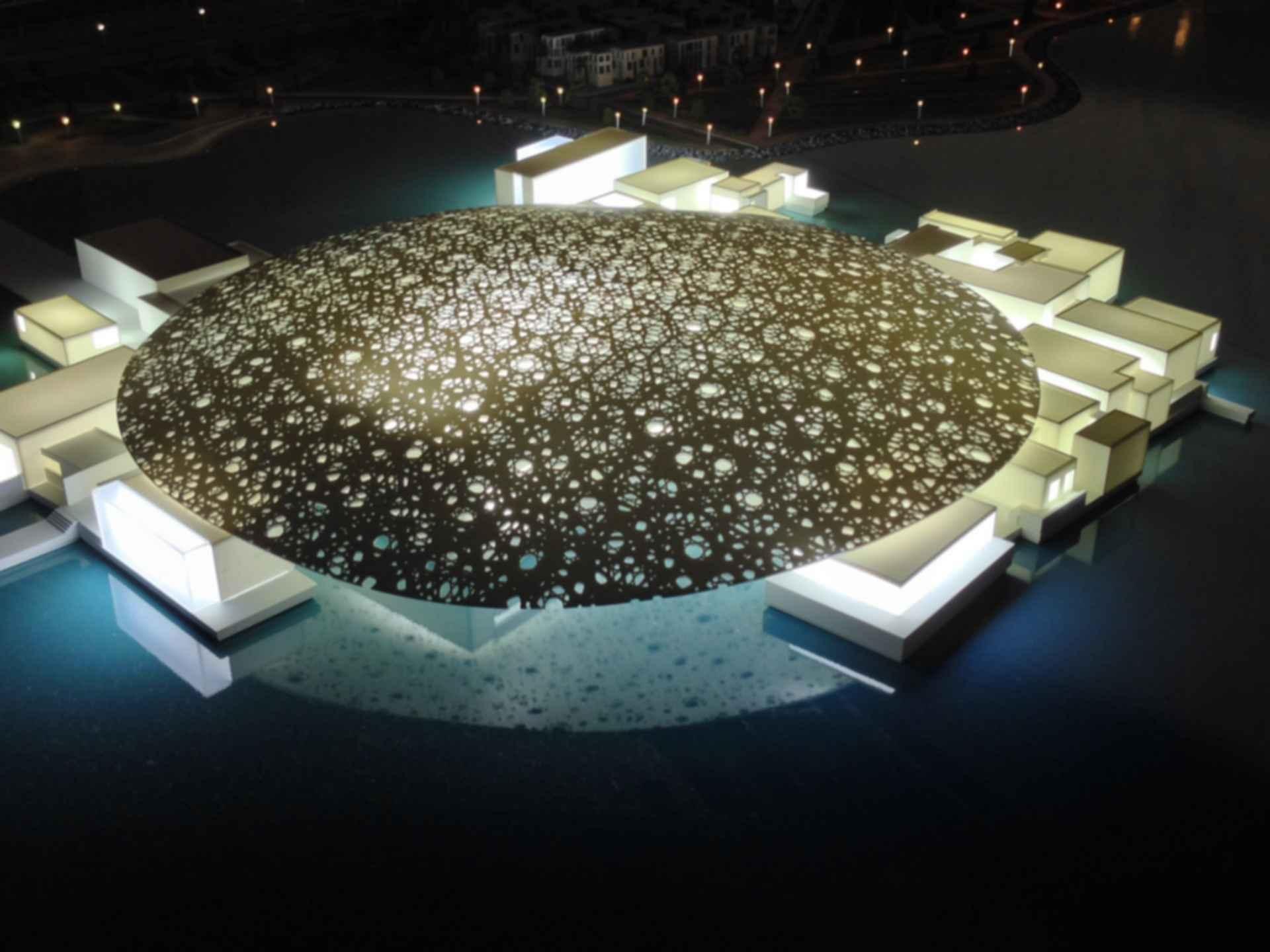 Louvre Abu Dhabi - Exterior Concept