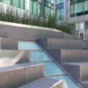Exterior Open Stairs Landscape Feature