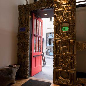 Artistic Door Detailing