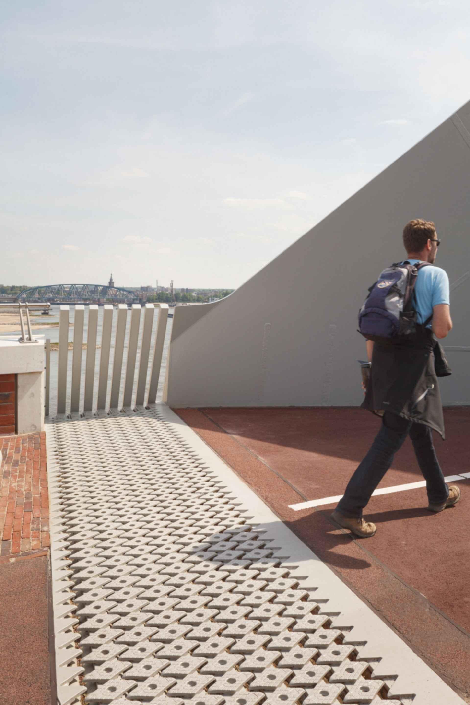 The City Bridge 'De Oversteek' - View on the Bridge
