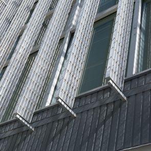 External Vertical Louvre Details