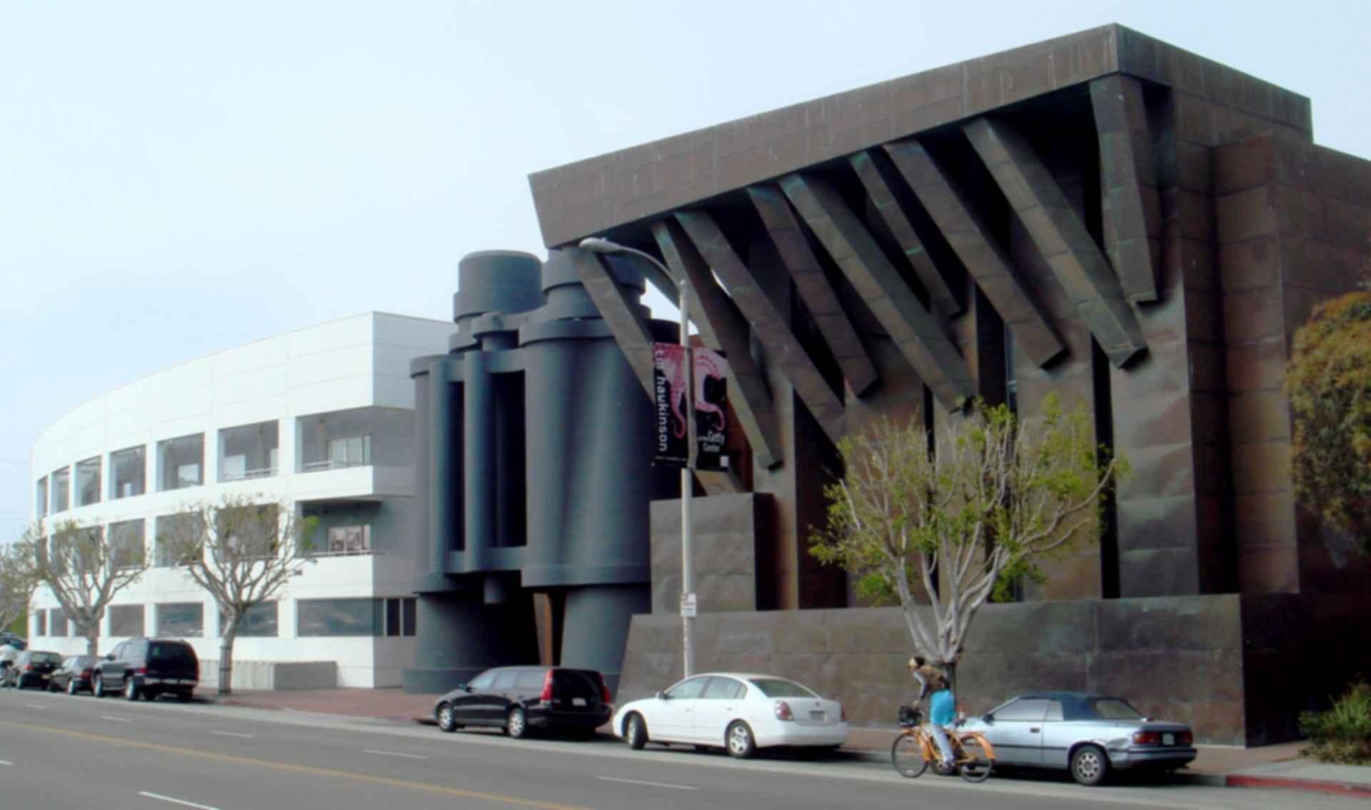 Binoculars Building - exterior