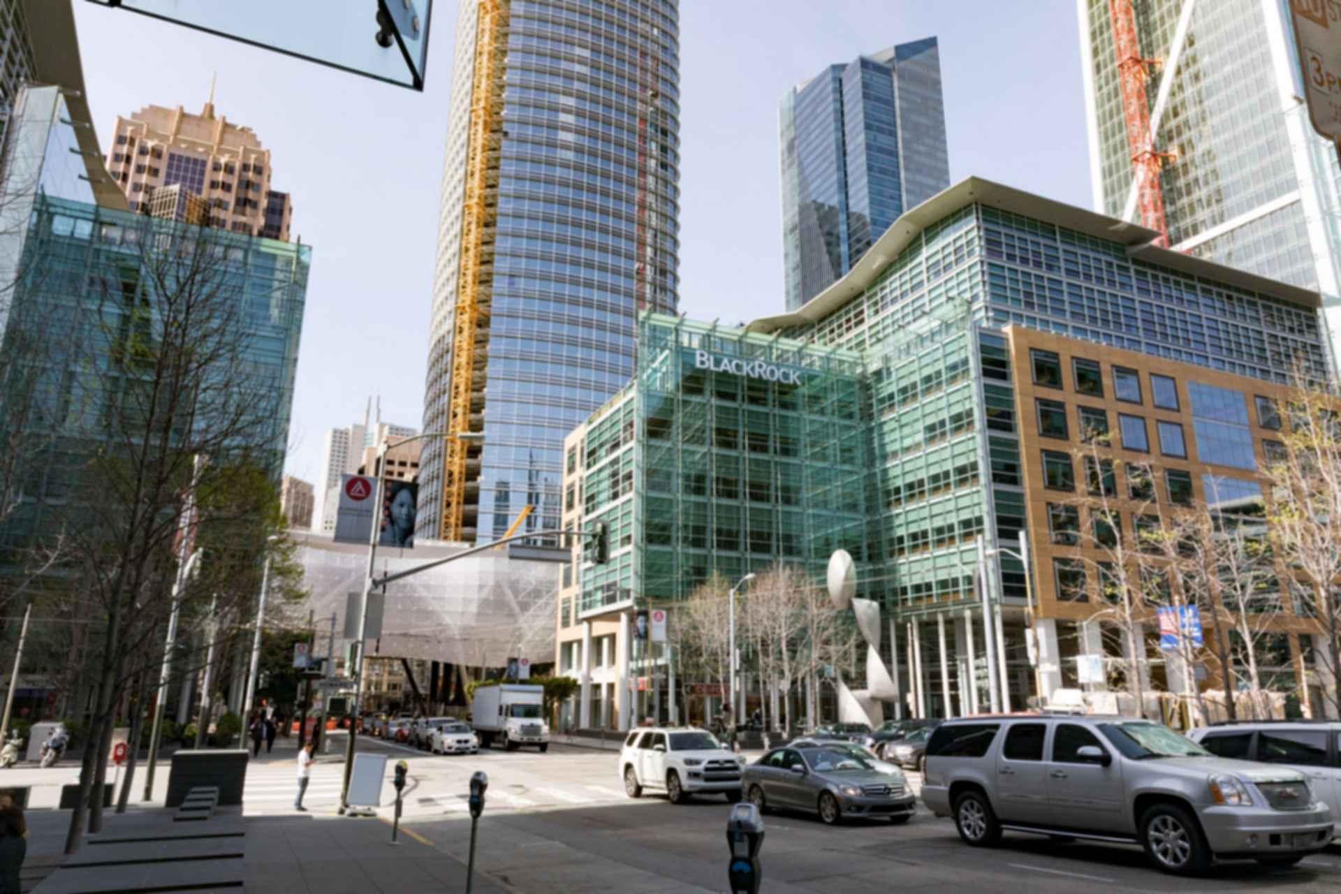 San Francisco BlackRock Offices Street View