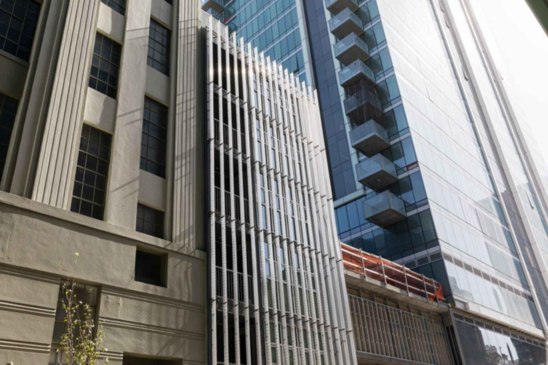 Vertical Louvers in San Francisco