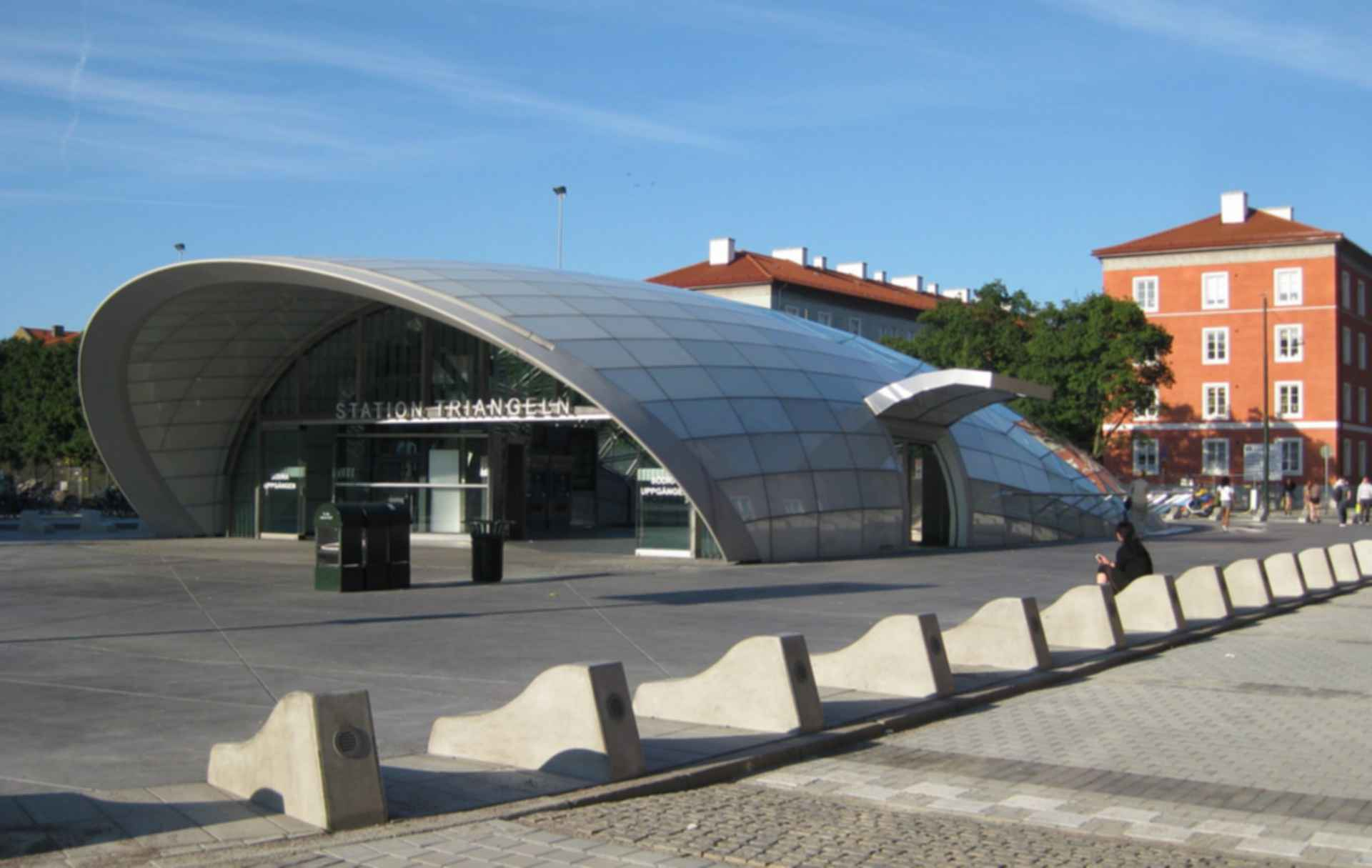 Triangeln Station - Southern Entrance