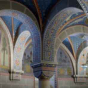 Patterned Ceiling Arch