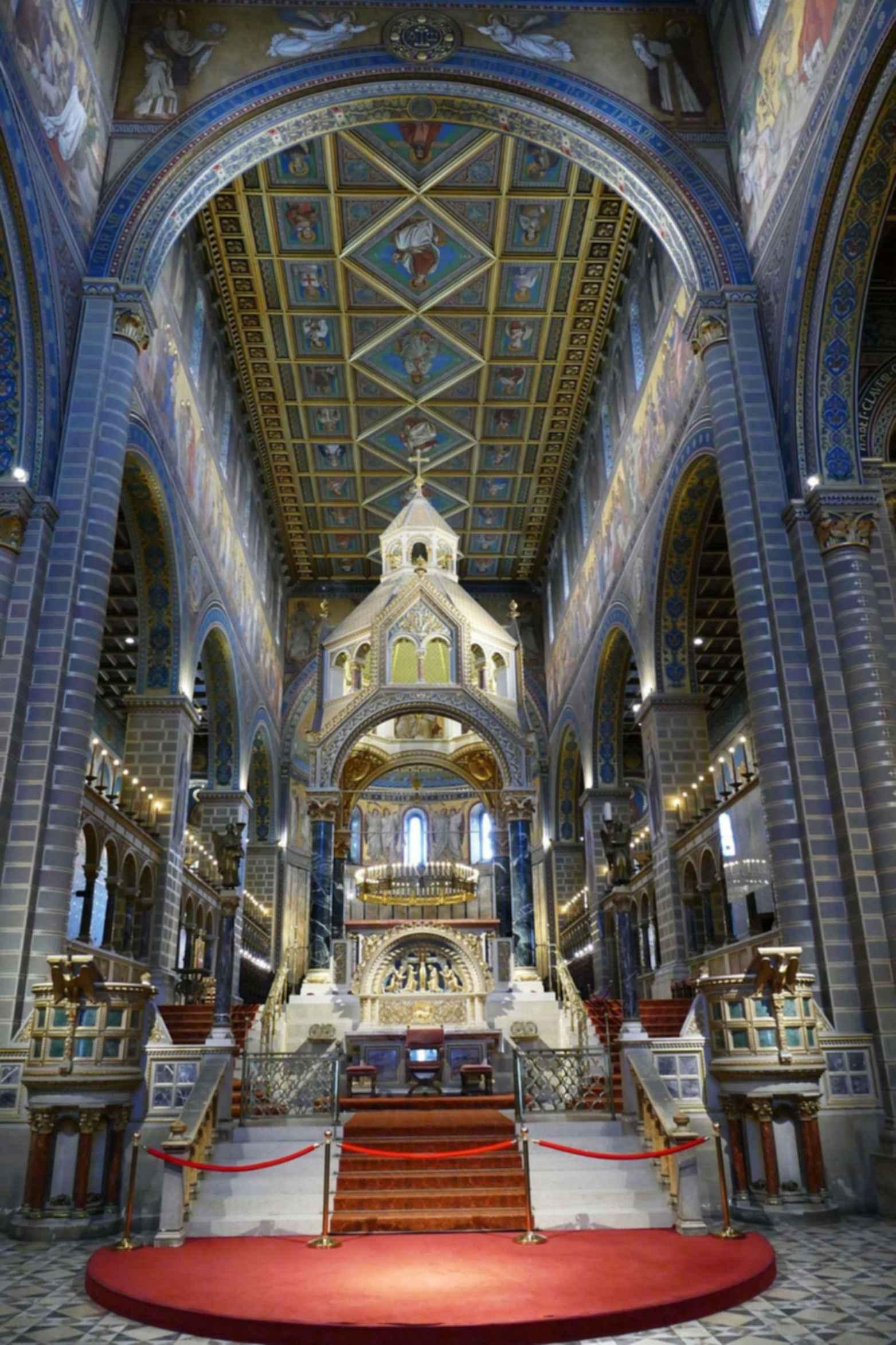 Ornate Church - interior