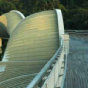 The Henderson Wave Bridge - View on the Bridge