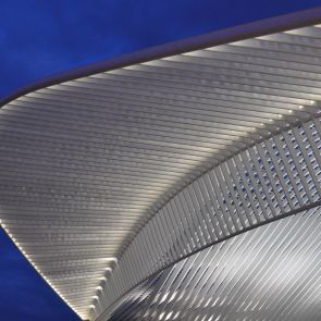 Liege-Guillemins Railway Station - Roof Detail