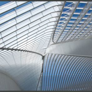 Liege-Guillemins Railway Station - Roof Structure