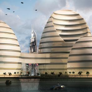 Organic Cities Concept Design