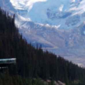 The Glacier Skywalk - View of Overhang