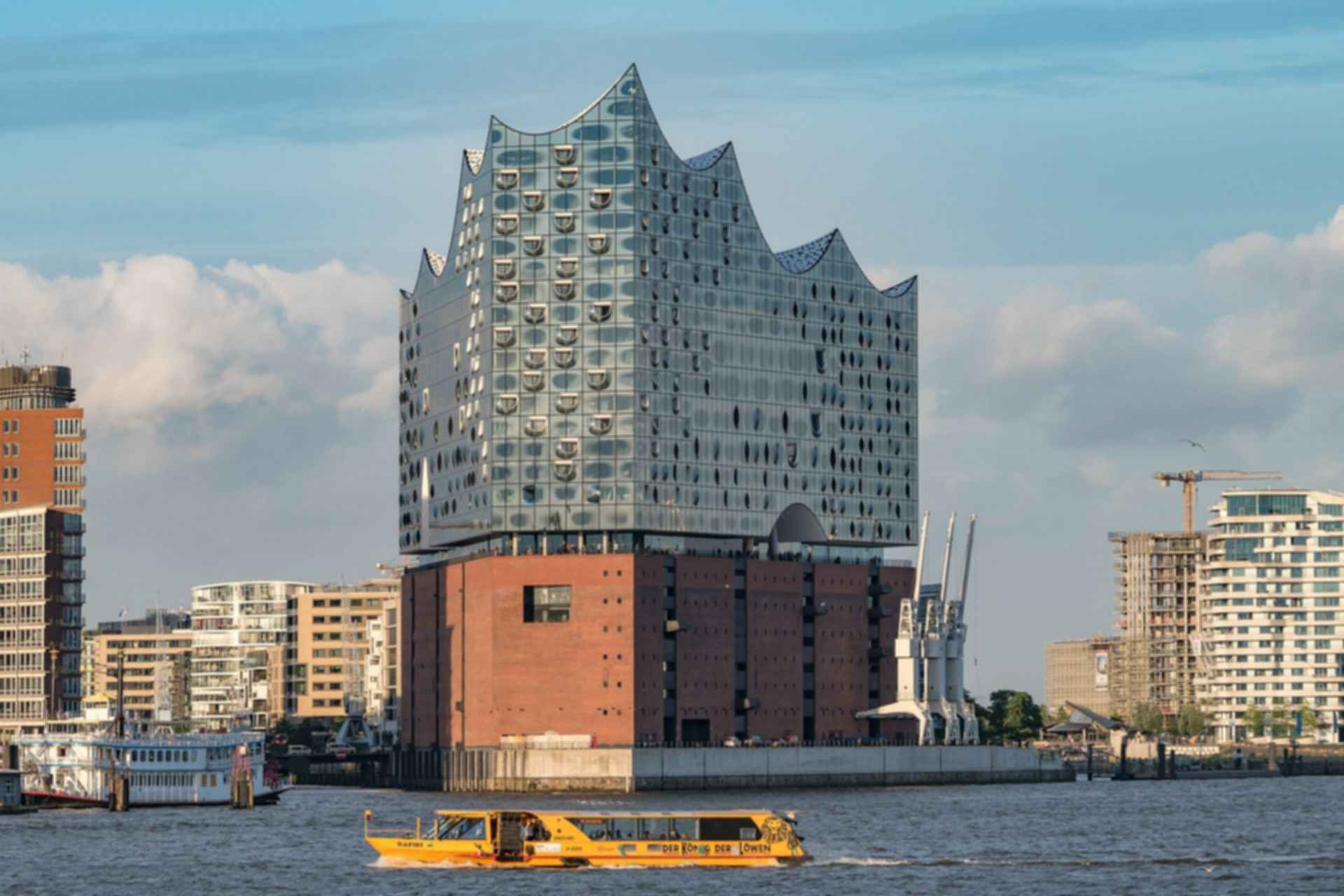 Elbphilharmonie - View from River