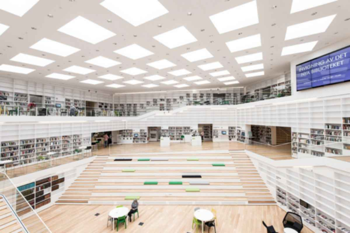 Dalarna Media Library - Interior