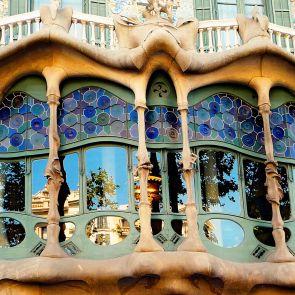 Casa Batllo - Exterior Windows