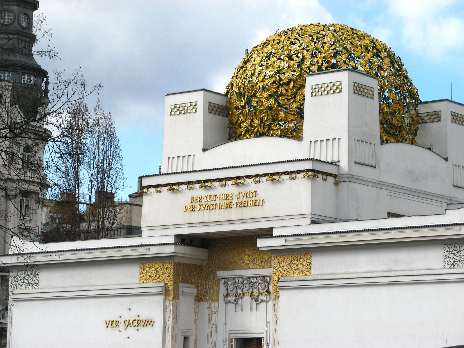 Image result for The Secession Building, Vienna