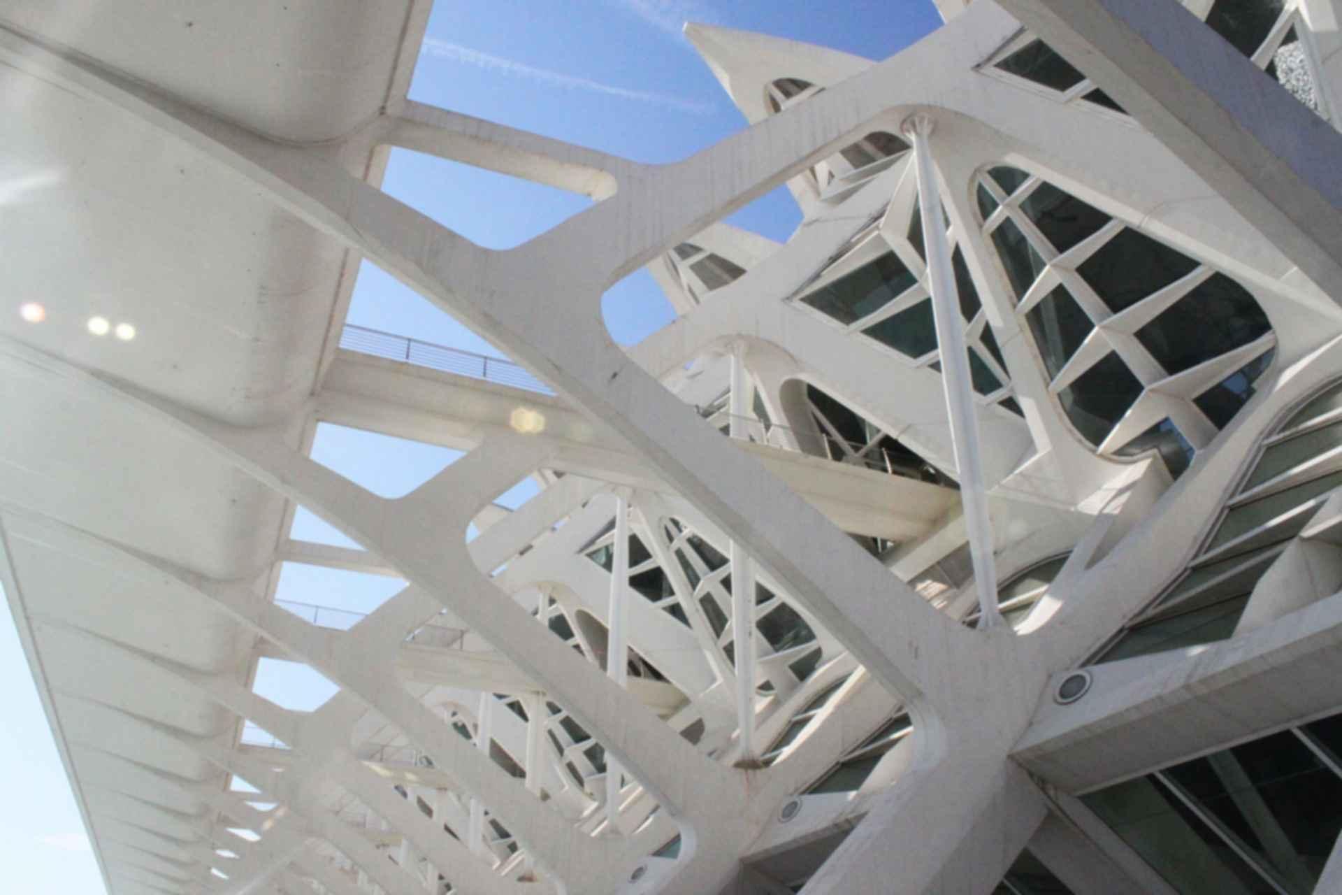 Principe Felipe Science Museum - Structure Detail