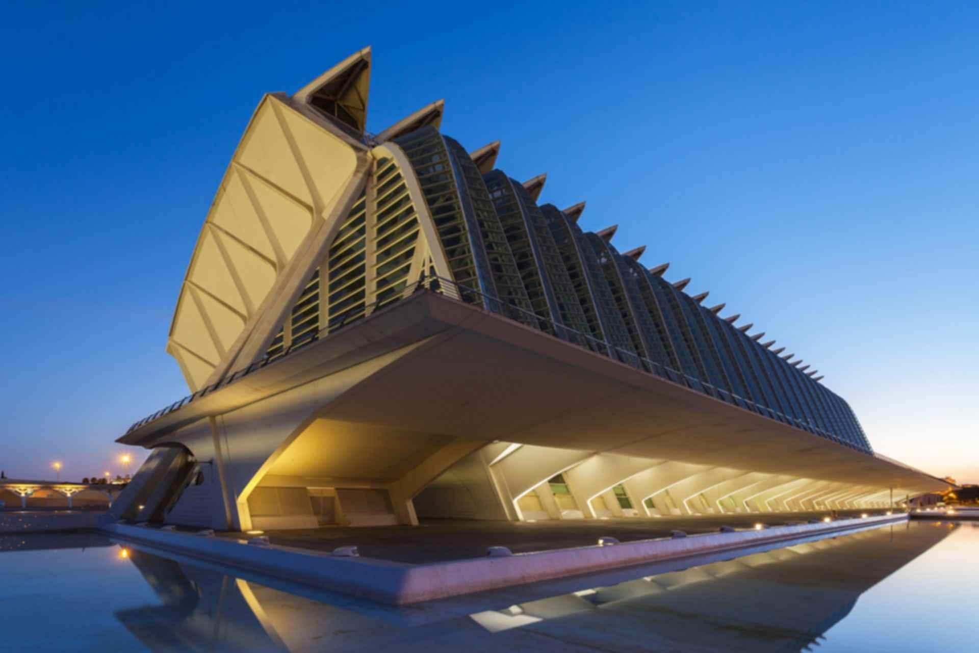 Principe Felipe Science Museum - Exterior