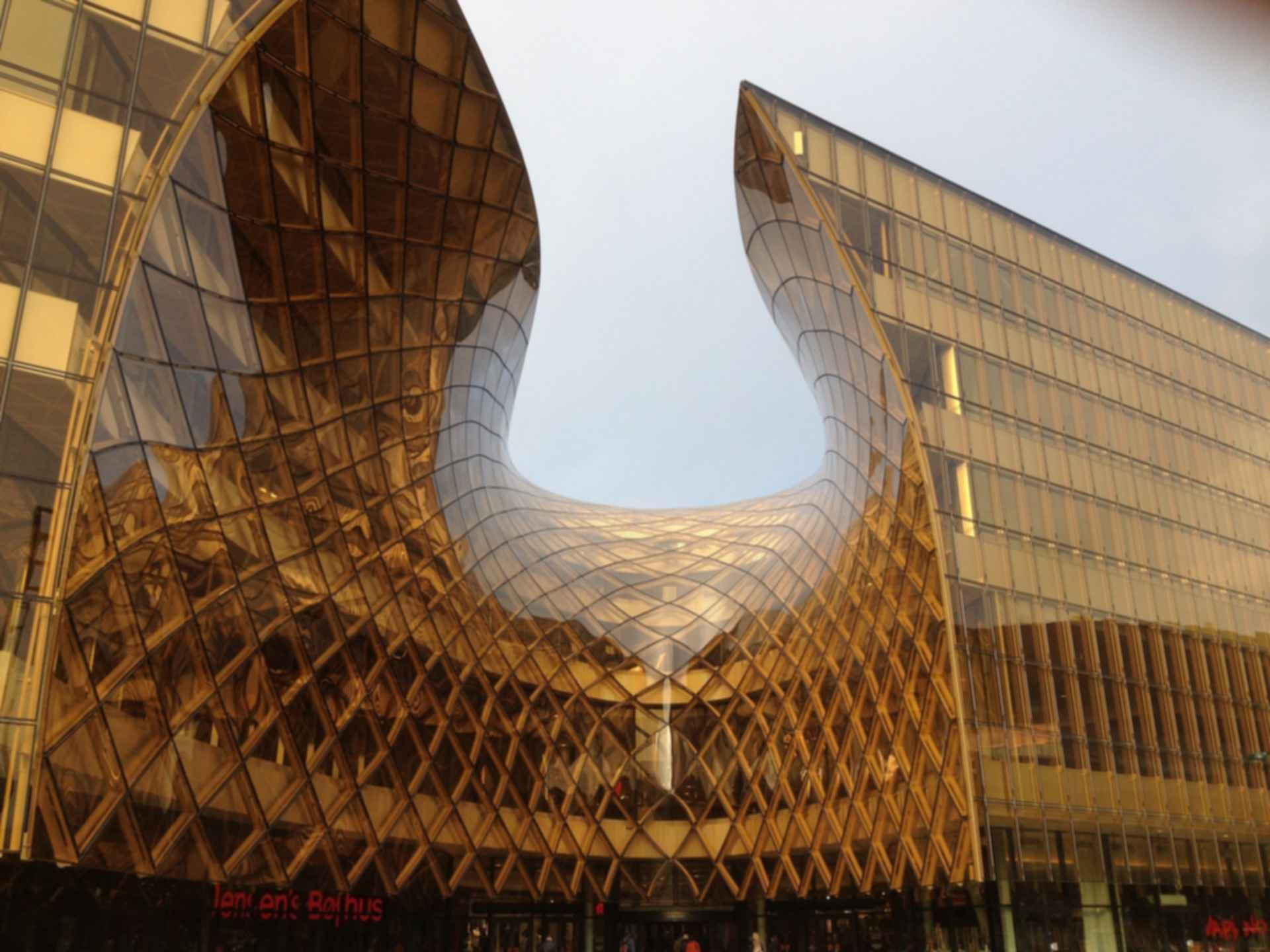 Emporia Shopping Center - Amber Entrance