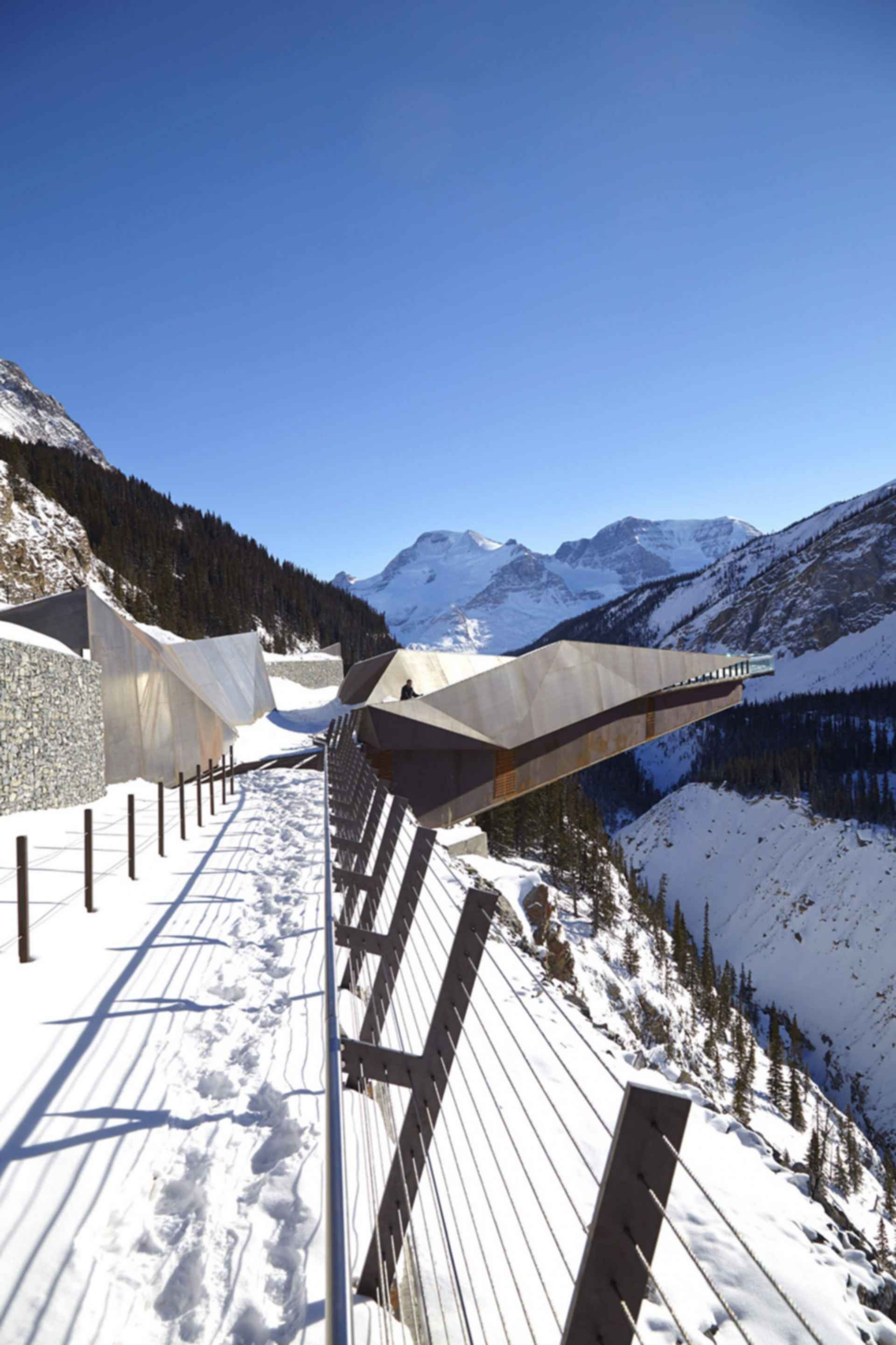 The Glacier Skywalk