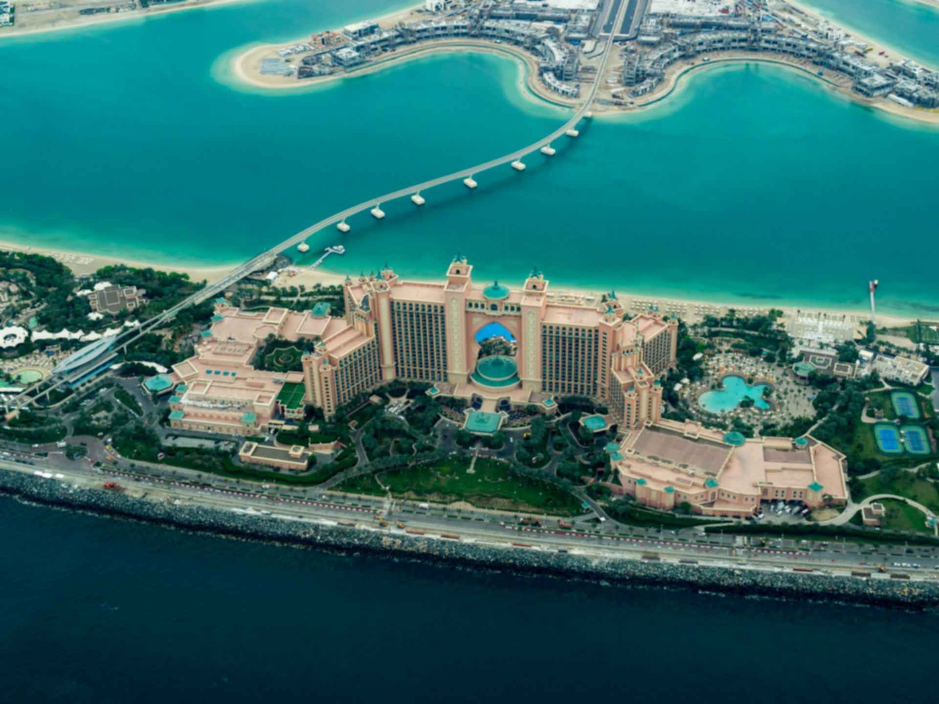 Atlantis, The Palm - Bird's Eye View