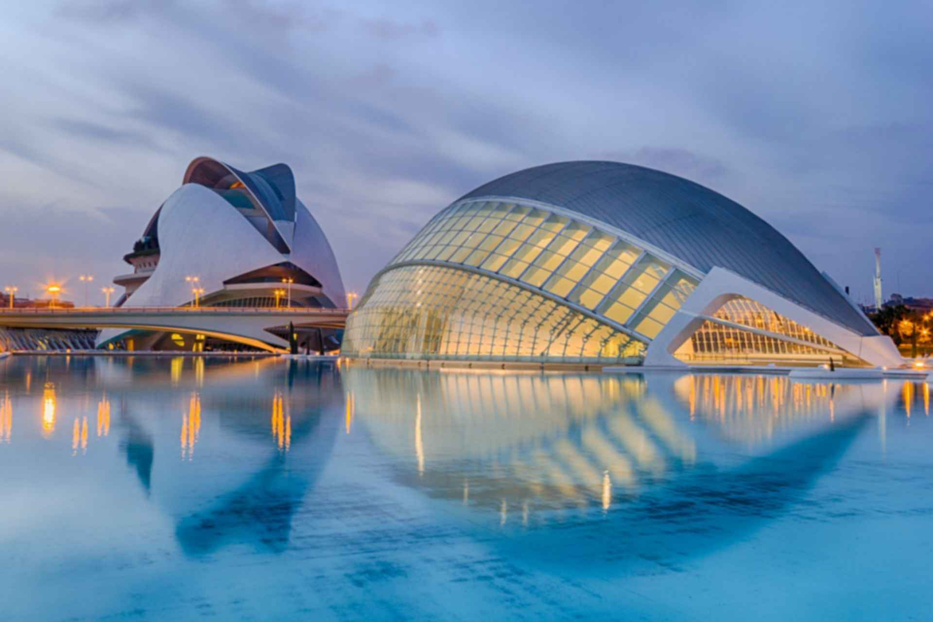 City of Arts and Sciences - Exterior
