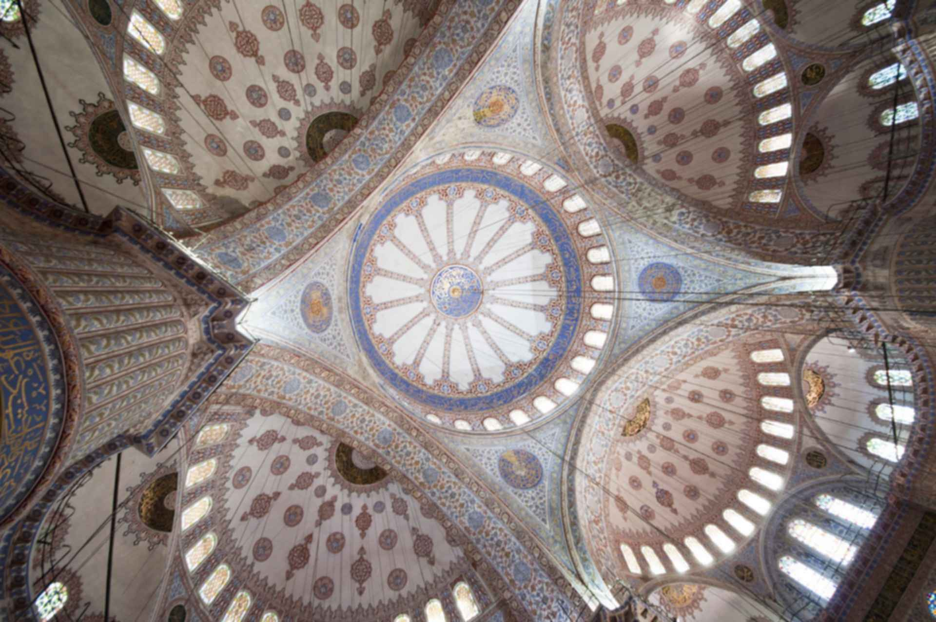 Sultan Ahmed Mosque - Ceiling