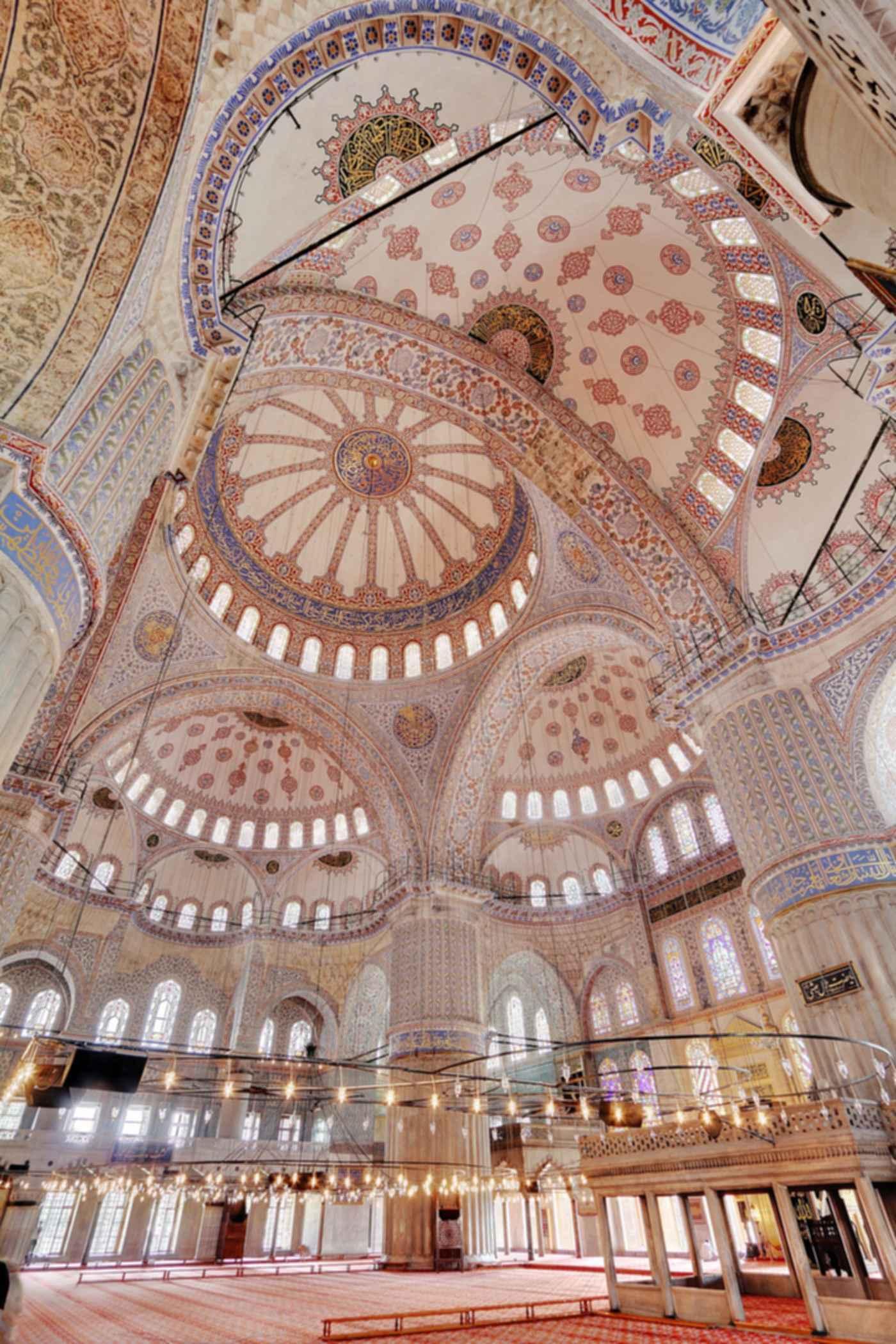 Sultan Ahmed Mosque - Interior