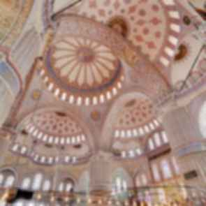 Sultan Ahmed Mosque - Interior