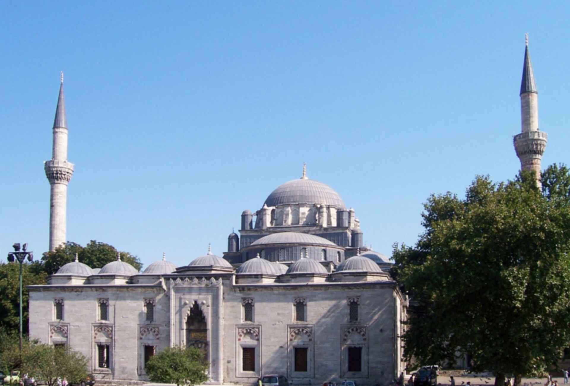 Bayezid II Mosque - Exterior