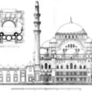 Suleymaniye Mosque - Drawing
