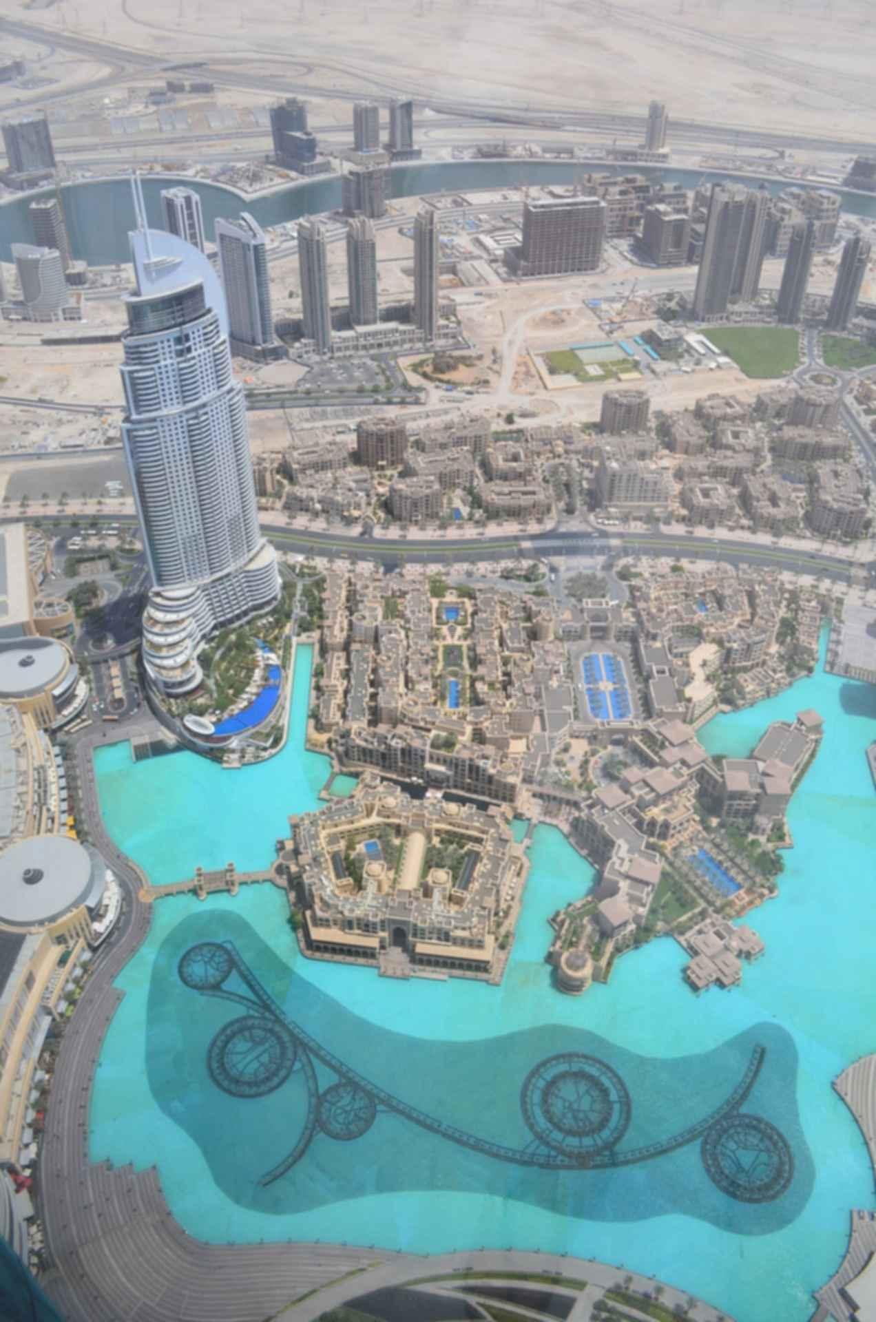 Burj Khalifa - View From Top