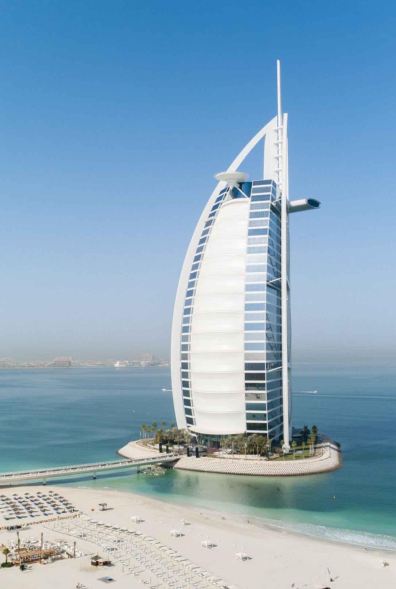 Burj Al Arab - Exterior