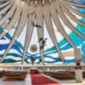 Cathedral of Brasilia - Interior