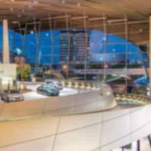 BMW Welt - Interior