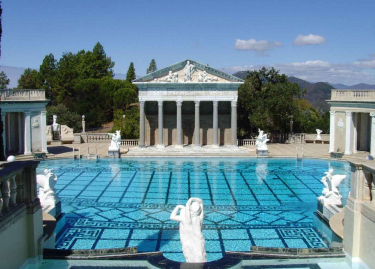 Hearst Castle - Pool