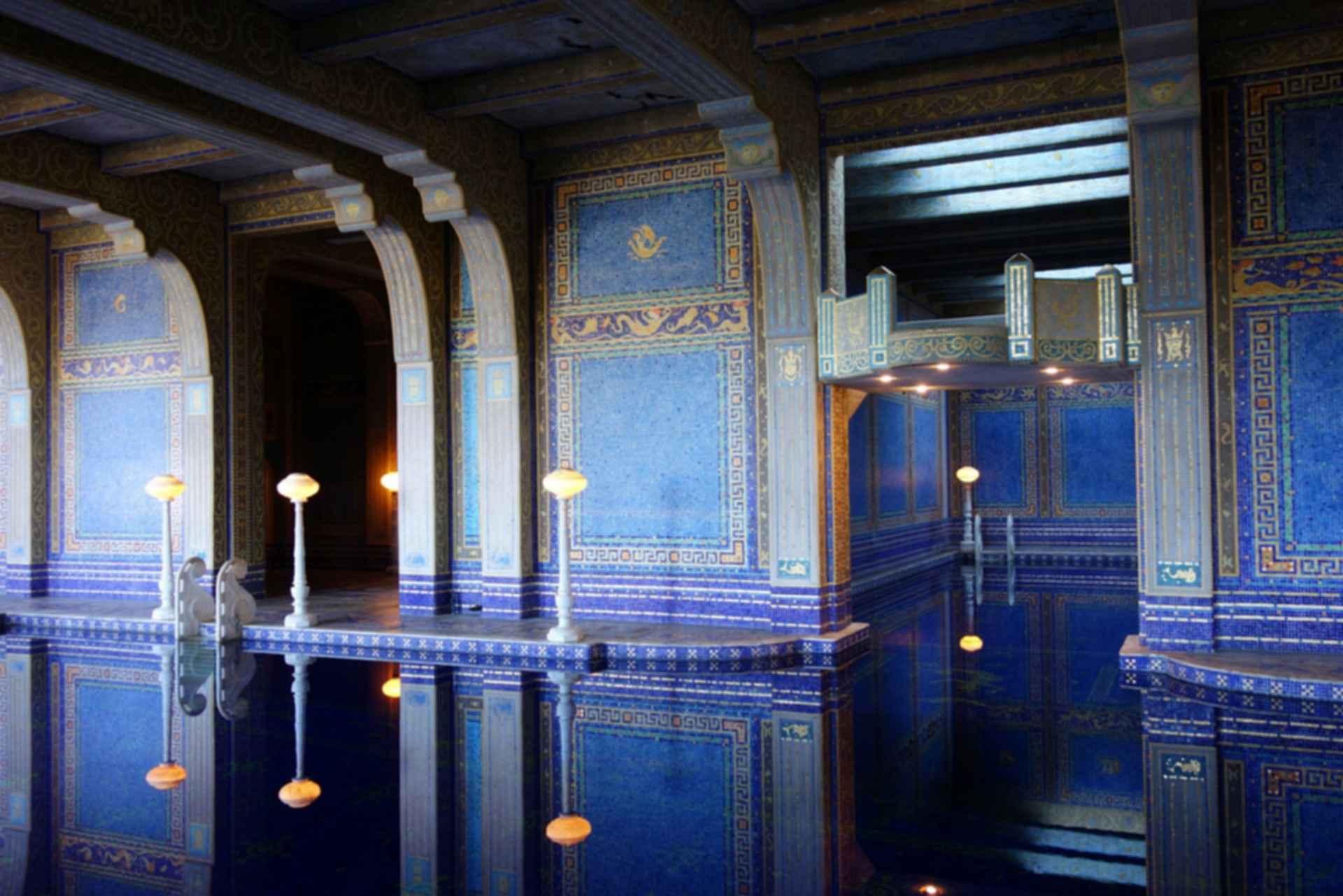 Hearst Castle - Roman Pool