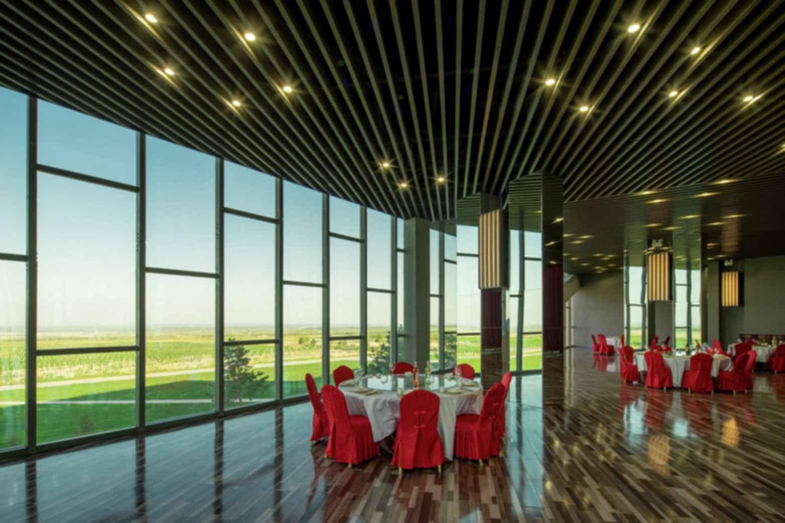 Great Wall Yunmo Winery - Interior