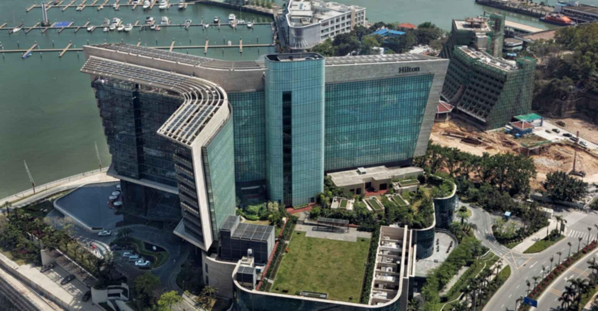 Hilton Shenzhen Marina Hotel - Bird's Eye View