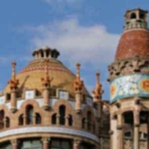 Hospital de la Santa Creu i Sant Pau - Roof